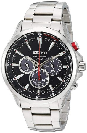 Relógio Seiko cronograph SOLAR  SSC493B1 Masculino