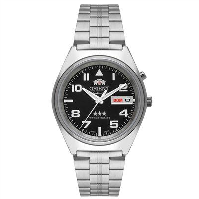 Relogio Orient Automatico 469SS083 p2sx masculino Cinza