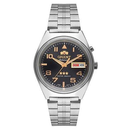 Relogio Orient Automatico 469SS083 g2sx masculino Marrom