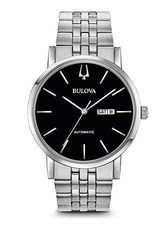 Relógio Bulova Classic automático 96c132 masculino
