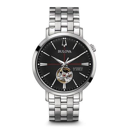 Relógio Bulova Classic automático 96A199 masculino