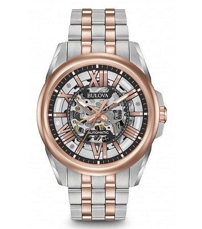 Relógio Bulova Classic automático 98A166 masculino