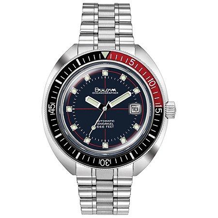 Relógio Bulova de Mergulho Oceangrapher automático 98b320 Devil Diver masculino