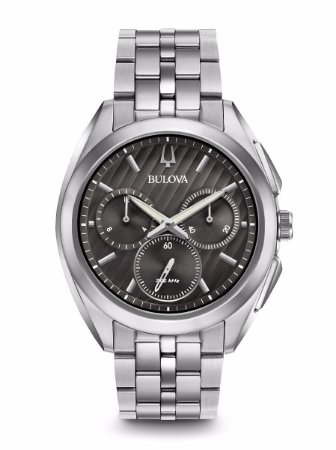 Relógio Bulova Curv Precisionist Quartz Masculino 96a186