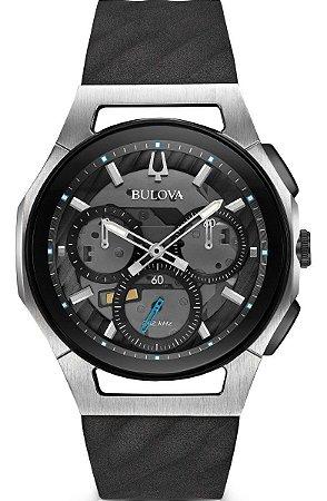 Relógio Bulova Curv Precisionist Quartz Masculino 98a161