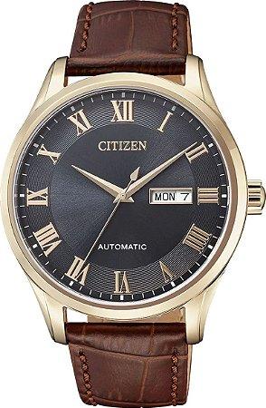 Relógio Citizen automático Elegant masculino NH8363-14H / TZ20797P