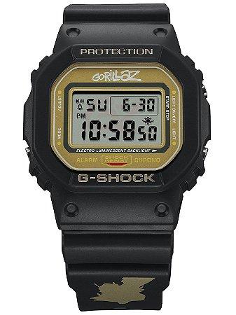 Relogio Casio G-SHOCK GORILLAZ DW-5600GRLZ2-1ER EDIÇÃO LIMITADA