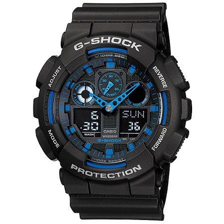 Relogio Casio G-SHOCK GA-100-1A2DR