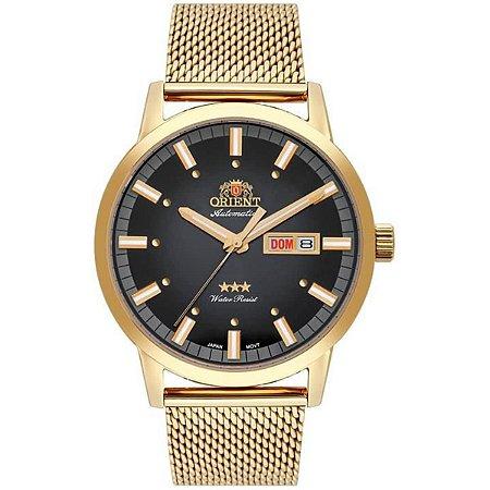 Relogio Orient automatico 469gp085 p1kx masculino dourado
