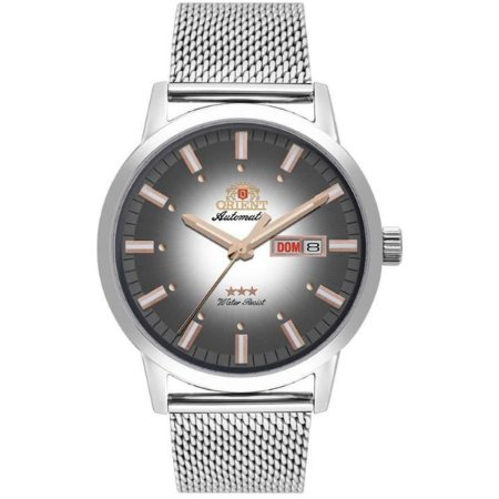 Relogio Orient automatico 469ss085 s1sx masculino prata