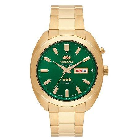 Relogio Orient Automatico 469gp077 masculino verde