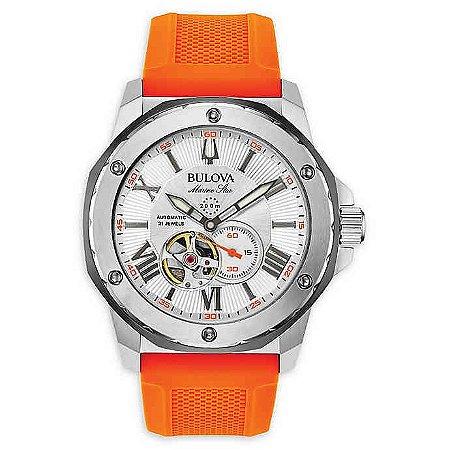 Relógio Bulova Marine Star automático 98A226 masculino