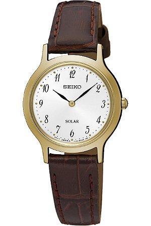 Relógio Seiko Solar feminino SUP370B1