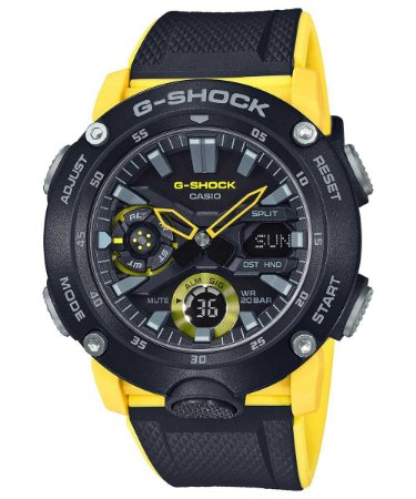 Relogio Casio G-SHOCK Carbon Core Guard GA-2000-1A9DR