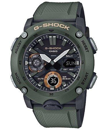 Relogio Casio G-SHOCK Carbon Core Guard GA-2000-3ADR