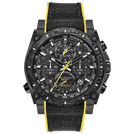 Relógio Bulova 300 Metros Masculino 98B312 Precisionist Quartz