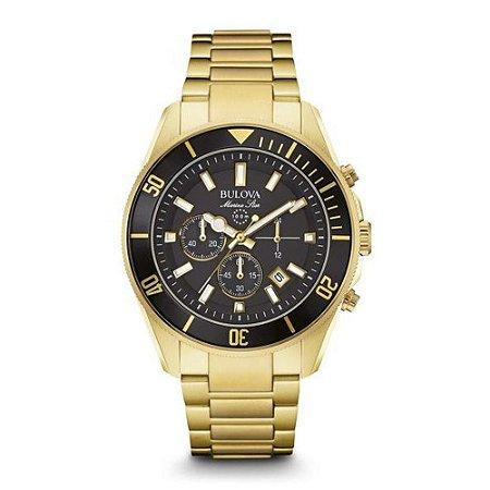 Relógio Bulova Marine Star Quartz Masculino 98B250