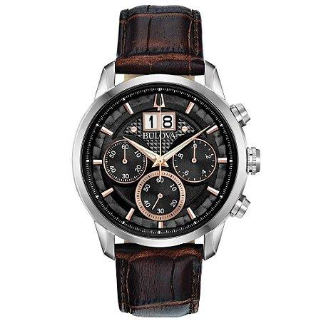 Relógio Bulova Sutton Quartz Masculino 96b311