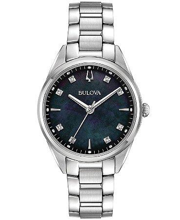 Relógio Bulova Sutton Diamond 96p198 feminino