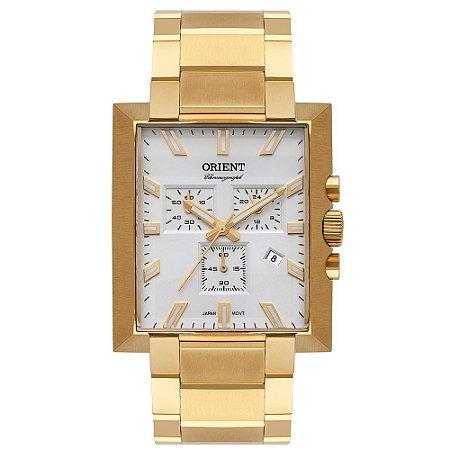 Relógio Orient Unique Masculino Cronógrafo Ggssc002 Dourado ** LANÇAMENTO**