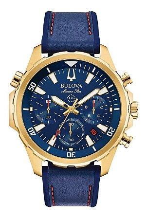 Relógio Bulova Marine Star Quartz Masculino 97B168