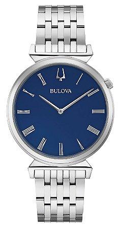 Relógio Bulova Regatta Slim Quartz 96a233 masculino