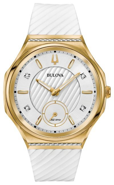 Relógio Bulova Diamond Curv Precisionist Quartz Feminino 98r237