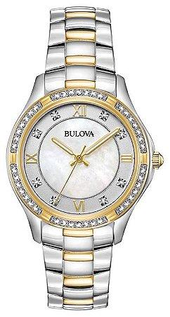 Relógio Bulova Swarovski 98L255 feminino