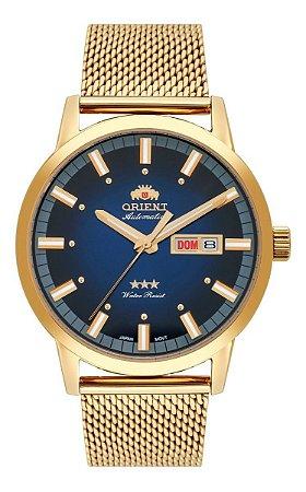 Relogio Orient automatico 469gp085 d1kx masculino dourado