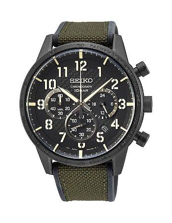 Relogio Seiko militar cronograph Quartz Ssb369b1 masculino
