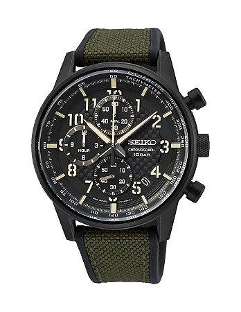 Relogio Seiko Militar cronograph Quartz Ssb373b1 masculino