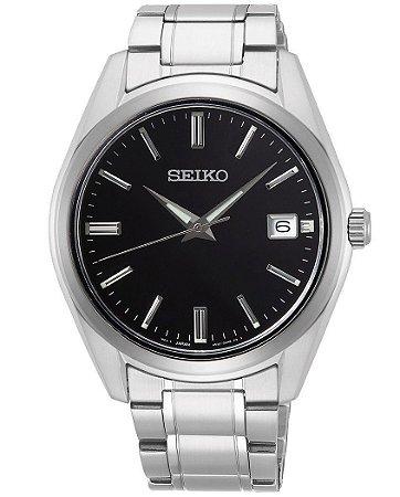 Relógio Seiko Quartz Sur311B1 Safira Masculino