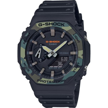 Relogio Casio G-shock Carbon Core Guard Ga-2100su-1adr OAK