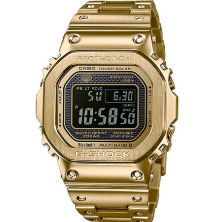 Relogio Casio G-SHOCK GMW-B5000GD-9DR Tough Solar e Bluetooth