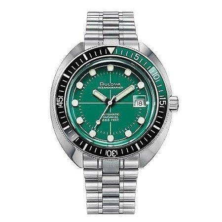 Relógio Bulova de Mergulho Oceangrapher automático 96b322 Devil Diver masculino