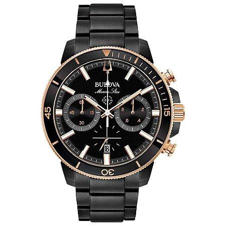 Relógio Bulova Marine Star Quartz Masculino 98b302