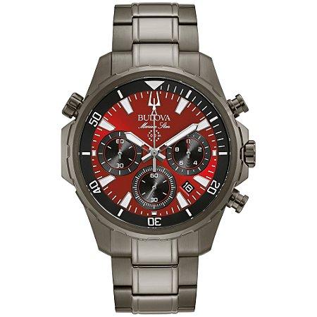 Relógio Bulova Marine Star Quartz Masculino 98B350