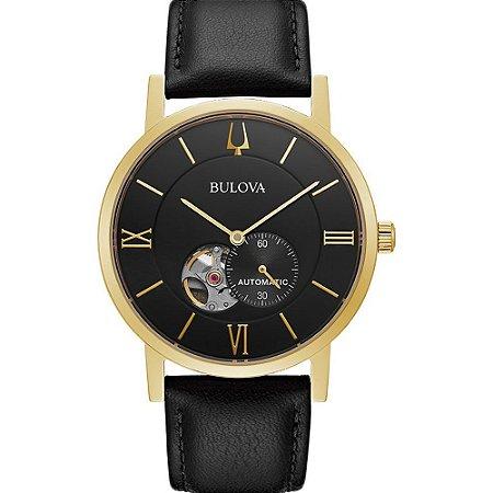 Relógio Bulova Clipper automático 97a154 masculino