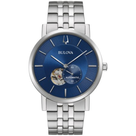 Relógio Bulova Clipper automático 96a247 masculino