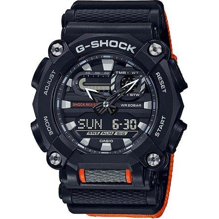 Relogio Casio G-SHOCK GA-900c-1A4DR Heavy Duty