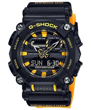 Relogio Casio G-SHOCK GA-900a-1A9DR Heavy Duty