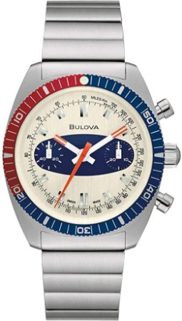 Relógio Bulova Surf Board automático 98a251 Deep Sea Cronograph Limited Edition