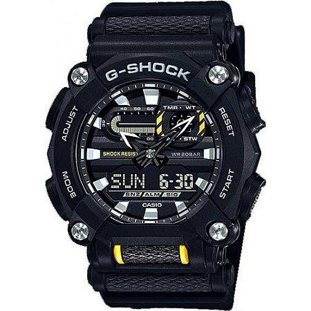 Relogio Casio G-SHOCK GA-900-1ADR Heavy Duty