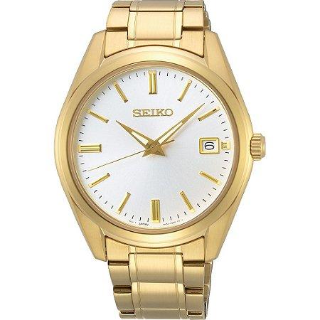 Relógio Seiko Quartz Sur314B1 Safira Masculino