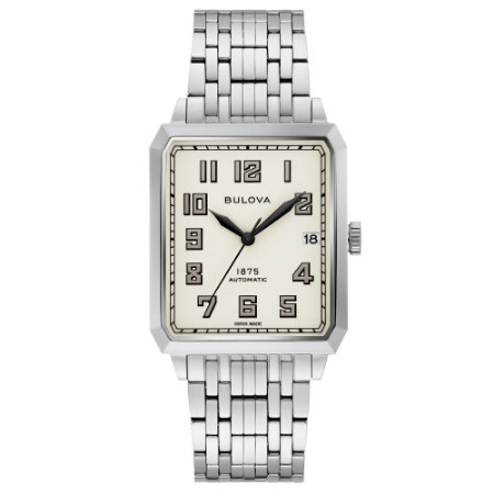 Relógio Joseph Bulova Collection Breton automático 96b333 masculino Edition Limited 350