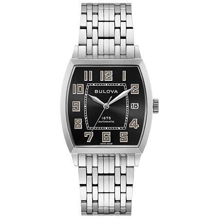 Relógio Joseph Bulova Collection Bankers automático 96b330 masculino Edition Limited 350 UNIDADES