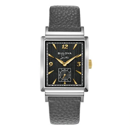 Relógio Bulova Sinatra My Way Quartz 98a261 masculino