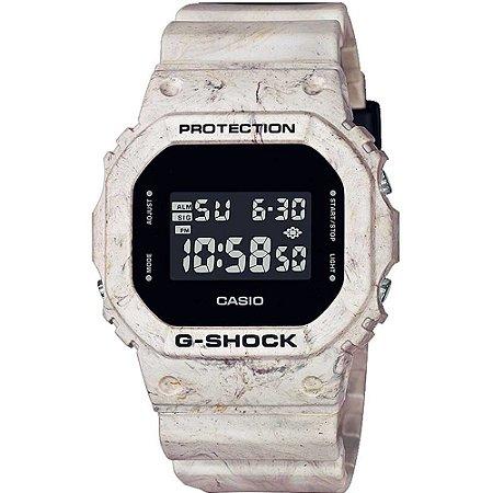 Relógio Casio G-shock Dw-5600wm-5dr Utility Wavy Marble