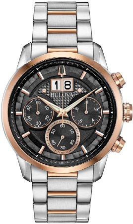 Relógio Bulova Sutton Quartz Masculino 98b335