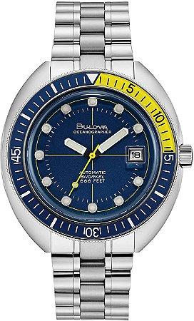 Relógio Bulova de Mergulho Oceangrapher automático 96b320 Devil Diver masculino